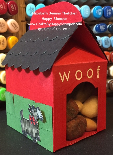 Stampin Up Baker's Box, Hey Girl, Dog House